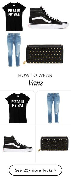 """""""Shopping"""" by naiarakoki on Polyvore featuring Frame Denim, Vans and Alexander McQueen"""