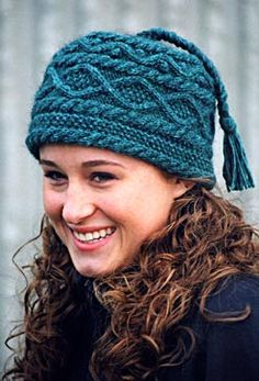 Knitted Hat Patterns - Angelika's Yarn Store ... I had this virtually exact pattern years ago and the book became lost ~ great to find!