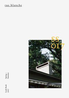 Club Sandwich / Rue Blanche / Lookbook 2017 / Spring — Summer / Printed Matter / 2016