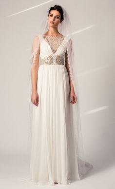 Petula Dress from the Temperley Bridal Iris Collection
