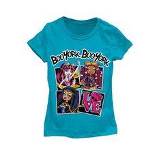Monster High Boo York Tee! Clawdeen & Draculaura at Kmart.com