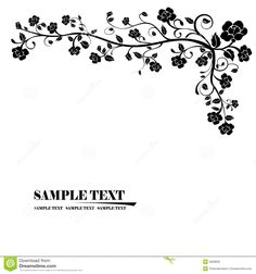 Floral Banner Vector - Download From Over 48 Million High Quality Stock Photos, Images, Vectors. Sign up for FREE today. Image: 5829695