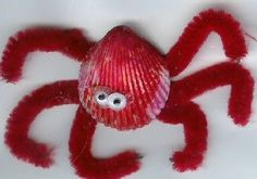 Cute crab to make after a day at the beach!