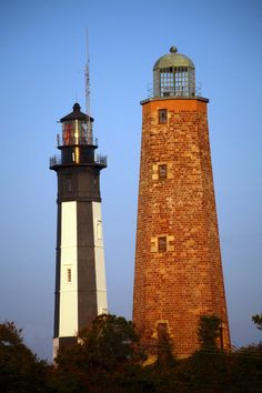Cape Henry Lighthouses, Virginia Beach. Been there........Done that......but not with my daughter.