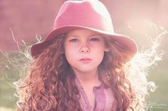 hippie, boho, child, girl, blonde, curls, hat, aztec