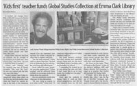 You can find the Philip Groia Global Studies Collection (with a link to the newest items added) right on our website! http://www.emmaclark.org/globalstudies/