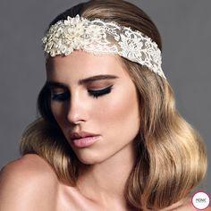 Monic Accessories - Bandó de Encaje para novia