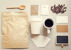 Check out Coffee identity branding mockup set by Nuchylee Photo on Creative Market