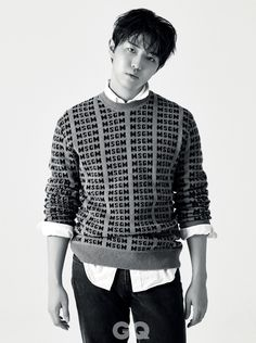 Wanna One Kim Jaehwan - GQ Magazine November Issue Korean Fashion Men, Korea Fashion, Korean Celebrities, Celebs, Jaehwan Wanna One, Kim Jaehwan, Gq Magazine, 2 Boys, 3 In One