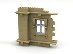 Lego wall, foundation, ledge, window.   by Stanley Yeoh Seng Huat