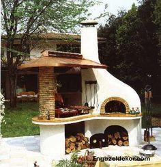 Bahçe İçin Şömine Modelleri › Dekorasyon Önerileri Ev