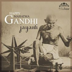 On this day, let us pay our homage to Mahatma Gandhi's teachings and embrace peace, love and happiness. #HappyGandhiJayanti