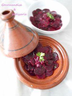Salade de betteraves à la marocaine   Gourmandise & pâtisserie Caponata, Beet Recipes, Oriental Food, Beets, Pudding, Ethnic Recipes, Desserts, Ramadan, Cooking Recipes