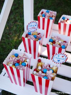 Great red, white and blue party ideas for memorial day weekend! - BirdsParty.com