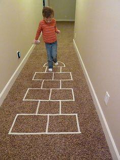 Great ideas for indoor / rainy day activities! kiddie-stuff