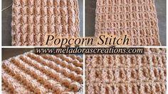 crochet stitch tutorials from youtube