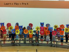 Acting out the garden: have a play and invite parents to attend!