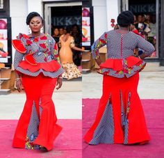 Of course, there are a bunch of unique NIGERIAN FASHION 2020 for women, ladies and girls Yea, am talking about the Alluring Ankara Gown Design and Ankara gowns. Nigerian Ankara Dresses, Ankara Gowns, Ankara Skirt And Blouse, Peplum Dress, Nigerian Fashion, African Fashion, Formal Hairstyles For Short Hair, African Attire, Fashion Styles