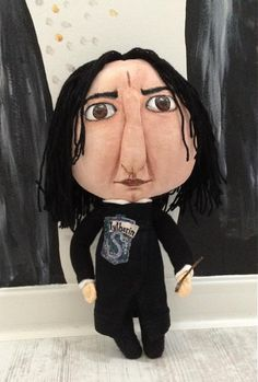 Severus Snape by Mery❤️Jane Severus Snape, Art Dolls, Disney Characters, Fictional Characters, Witch, Disney Princess, Handmade, Hand Made, Witches