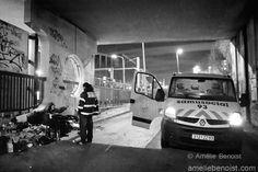 Reportage auprèsdes équippes du SAMU social 93: http://ameliebenoist.com/gallery.php?gid=50
