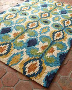 My next outdoor rug. LOVE it!
