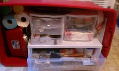 My chuck box from my blog The Camping Couple- Melissa Myers