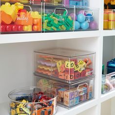 Playroom Organization, Home Organisation, Organization Hacks, Playroom Ideas, Kids Labels, The Home Edit, Basket Shelves, Toy Rooms, Organizing Your Home