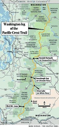 pct plan with dates and places and where resupplies are happening ...