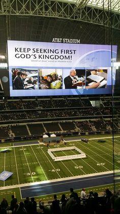 2014 International Convention, AT&T Stadium, Arlington, TX