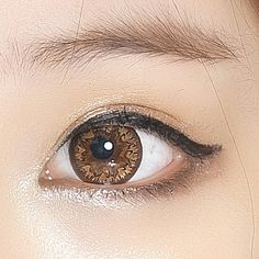 Huge 14.8mm diameter circle contact lenses from #eyecandys. SHOP NOW with FREE Shipping to the US. P and non prescription available. https://eyecandys.com/collections/geo-mimi-premium
