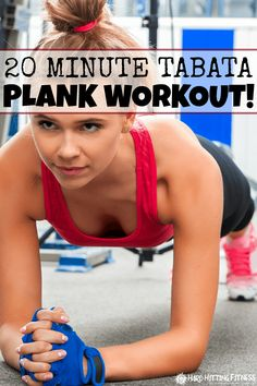 20 MINUTE PLANK WORKOUT This is a killer plank workout! I totally felt it working my core AND shoulders! Love that it's 20 minutes, too.
