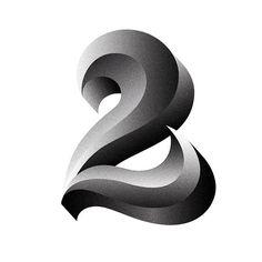 2. type by Rafa Goicoechea #lettering #tipografia #grafica