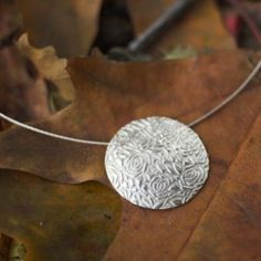 Silver Pendants, Silver Jewelry, Metal Clay Jewelry, Precious Metal Clay, Copper And Brass, Jewelry Design, Polymer Clay, Gold, Jewelry