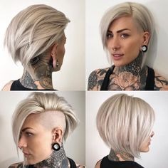Likes, 120 Kommentare – Friseur ✂️ LA NYC MIA (Philip Wolff) auf … The Effective Pictures We Offer You About christmas design A quality picture can tell you many … Short Hair Cuts, Short Hair Styles, Edgy Short Hair, Undercut Hairstyles, Undercut Bob, Undercut Women, Trending Hairstyles, Hair Today, Hair Dos