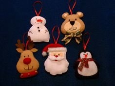 Christmas tree holiday ornament decorating by threebusybeez, $19.99