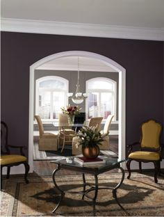Plum Brown SW 6272 and Mink SW 6004 Sherwin-Williams 2013 Color Forecast: Midnight Mystery