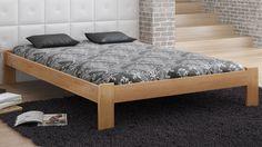 Podwójne : Łóżko drewniane Ada 160x200
