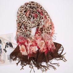 Wool Scarves-Ladies long wool scarf