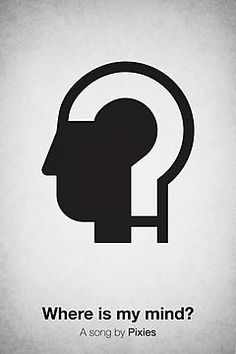Where is my mind pictogram. $7.15