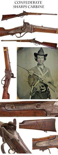 Confederate Government Produced Richmond Sharps Carbine: