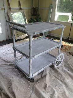 Vintage Tea Cart Makeover! (Amazing!) | Hometalk