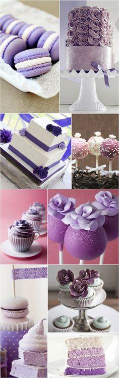 Praise Wedding » Wedding Inspiration and Planning » Wedding Palette – Romantic Lavender