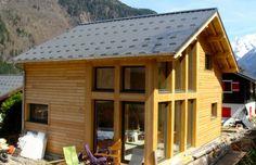 timber frame chalet