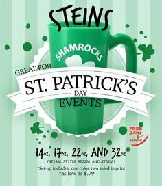 Only One Month Left! Celebrate St. Patrick's Day and Promote your Business!