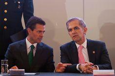 Peña y Mancera en caída libre; crece desaprobación de ambos: El Universal