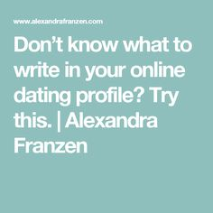 Online dating best tips