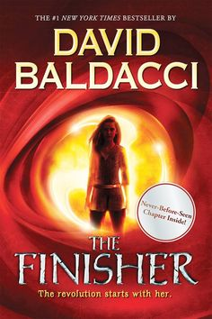 "The Finisher, by David Baldacci; illustrated by Nicola Barber (2014). ""There was nothing in the Quag except certain death.Vega Jane has never left the village of Wormwood. But this isn't unusual -- nobody has ever left the village of Wormwood. At least not until Quentin Herms vanishes into the unknown."" (Website)"