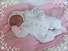 Уютный зайчик / Teddy Все-в-одном 17-24 дюймов кукла / новорожденного / 0-3m ребенок-все-в-одном, вязание узором, куклы, ребенок, кролик, Тедди