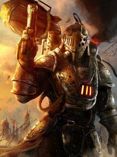 Steampunk Warrior by AbelVera