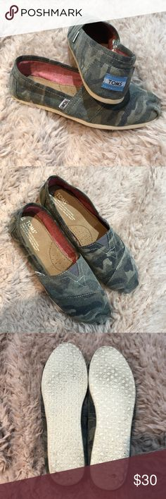51ccdbac122d Camo Toms Camouflage Toms in excellent condition. Size 8.5 Toms Shoes Flats  & Loafers Camo